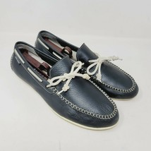 Cole Haan Grand OS Mens Driving Loafers Black Casual Lace Up Shoes C1345... - $42.87