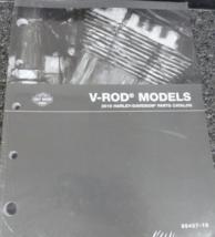 2016 harley davidson vrsc v rod parts manual book catalog oem brand new - $47.20