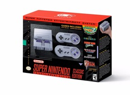 Super Nintendo Entertainment System Classic Edition - NEW NIB Ships from... - $139.07