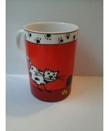 Konitz Cat Animal coffee tea mug cup Made in Germany - collectible - 8 oz - $22.76