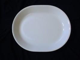 Corelle Platter Winter White Frost Oval Serving Platter 12 Inch - $15.83