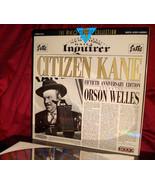 'CITIZEN KANE' - Orson WELLES' RKO Classic on 12-Inch Laser Disc, NM - $6.95