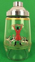 Abercrombie & Fitch Frank Vosmansky Fox-Hunt 1938 Cocktail Shaker - $1,400.00