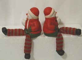 Unbranded 51696 Dangling Feet Snow Kid Set of 2 Colors Red Green White Brown image 3