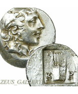 LYCIAN League Lycia. APOLLO / Lyre. 35 BC. Ancient Greek Silver Coin Kra... - $260.10