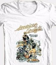 American Graffiti T-shirt retro 70s classic movie 100% cotton graphic print tee image 1