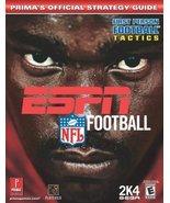 ESPN NFL Football (Prima's Official Strategy Guide) Mojo Media - $4.99