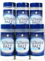 6 Count Nature's Supreme 16 Oz Pure Kosher Salt For Multi Purpose Endles... - $22.99