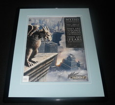 Legendary the Game 2008 Spark Framed 11x14 ORIGINAL Advertisement - $32.36