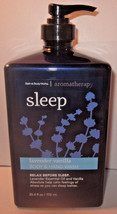 Bath & Body Works Aromatherapy 25.4 oz Hand & Body Wash Sleep Lavender V... - $39.99