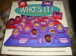 Who's it board game . Guess Who face is it . Guessing Game - $20.00
