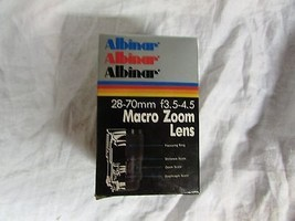 Albinar ADG 28-70mm f/3.5-4.5 MC macro Zoom lens Canon FD vintage camera - $69.99