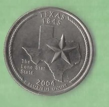 2004 P Texas State Quarter - Near Uncirculated  - $1.25