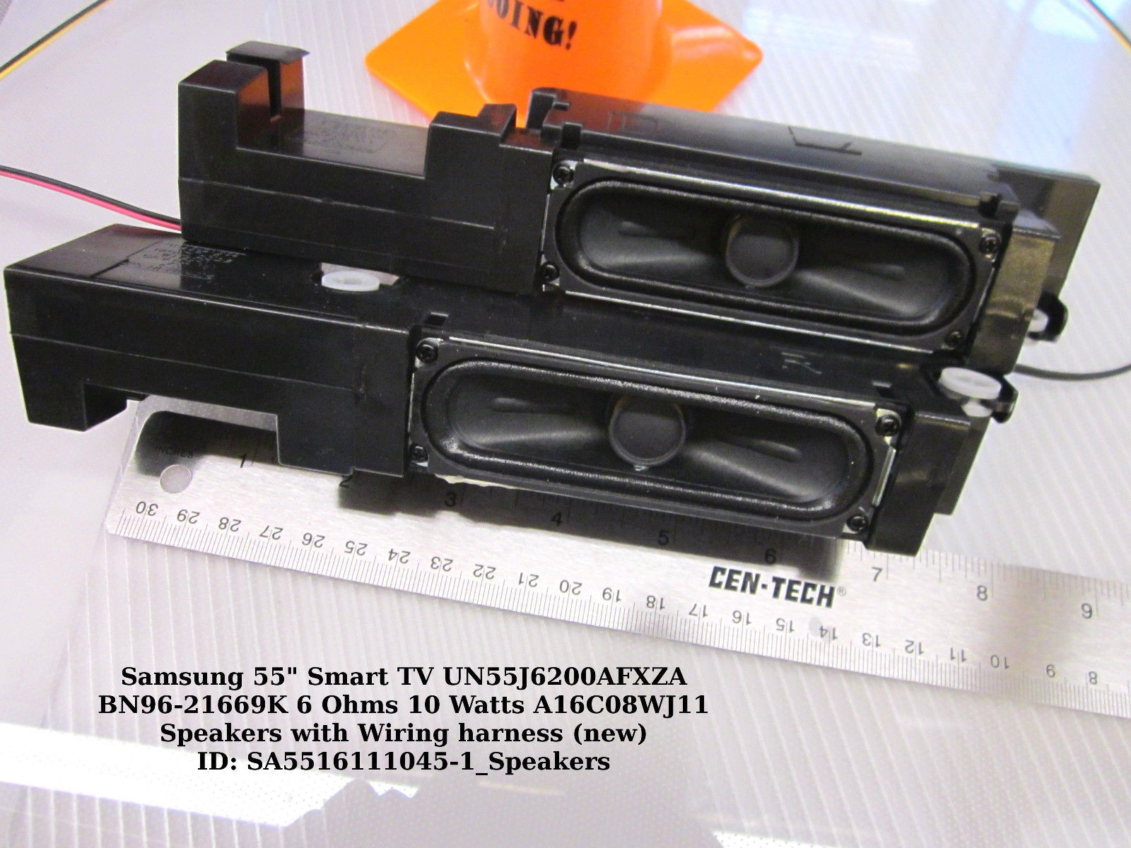 "Primary image for Samsung 55"" UN55J6200AFXZA BN96-21669K 6 Ohms 10 Watts A16C08WJ11 Speakers"