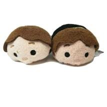 (2) Star Wars Tsum Tsum Plush Han Solo Stuffed - $10.19