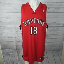 Toronto Raptors Jersey Mens 52 Jemario Moon Autograph NBA Basketball - $93.27