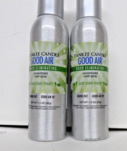 Yankee Candle GOOD AIR JUST PLAIN FRESH Concentrated Room SPRAY PERFUME ... - $21.73