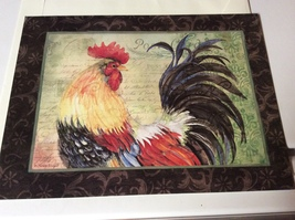 Frameable 9'x12' Rooster Print by Susan Winget - $15.99