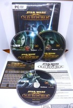 Star Wars PC DVD The Old Republic 2011 PC Gaming EA Lucasarts Starwars Game - $12.06