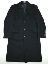Stratojac Vintage Wool Coat - Black - 40R - $79.20
