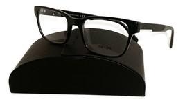 Prada Unisex Black Glasses with case VPR 06U 1AB-1O1 52mm - $185.99