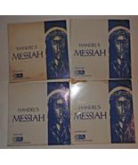Handels Messiah Records Vinyl Album ,Alto Part ,Bass ,Tenor Part  set of... - $31.52