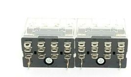 LOT OF 2 NEW OMRON LY4N-D2 24VDC RELAYS LY4ND2 image 3