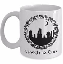 Outlander Mug Gift Standing Circle Craigh Na Dun Sassenach Claire JAMMF - $19.55+