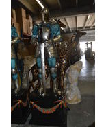 A Pair of Roman Soldiers W armor carrying shields Bronze Statues-22 x 31... - $14,400.00