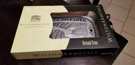 Vintage Wilton Armetale Peace on Earth Bread Tray NIB #601022 - $19.79