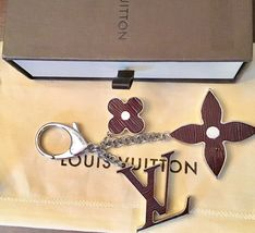 Louis Vuitton Bijoux Sac FLEUR D'EPI Key/ Bag Charm-Gently Used With Date Code image 3