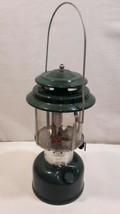 Vintage Coleman # 220 F Two-Mantel Lantern w/Pyrex Globe  1 / 1972 - $46.71