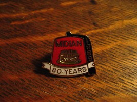 Midian Shrine Lapel Pin - Vintage 1989 Wichita Kansas USA Shriners Fez T... - $24.74