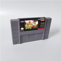 Thunder Spirits Super Nintendo SNES 16bit NTSC Cartridge Game Card US Ve... - $21.99