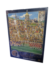 """Vintage Notre Dame Fighting Irish Jigsaw Puzzle 513 Pieces 21 1/4"""" x 15"""" New - $19.75"""