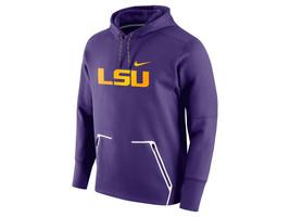 ee8ca44275a0 Nike Louisiana State Tigers Vapor Speed Hoodie Purple Therma-Fit LSU 2XL -   56.52