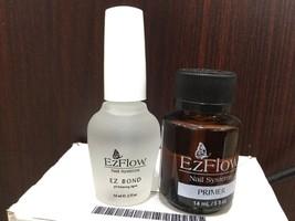 EZFLOW Nail Primer and ez Bond For Nail Acrylic 0.5OZ - $13.99