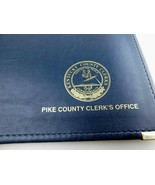 Pike County Clerks Office KY Kentucky HAZEL Faux Leather Portfolio Folder  - $59.38