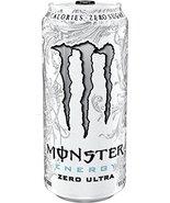 Monster Energy Ultra Energy Drinks 6 - 16oz Cans (Zero Ultra) - $24.74
