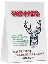 Animal Safety Alert Save A Deer Whistle Single Unit Air-activated Automo... - $12.61