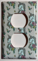 Unicorn wallpaper pink Light Switch Outlet Toggle & more Wall Cover Plate Home d image 2