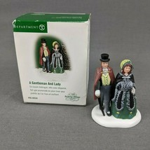 Department 56 Dickens Village Couple 2002 A Gentleman and Lady #56.58559  - $27.04