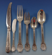 Versailles by Tetard Freres Sterling Silver Flatware Set Service French 75 Pcs - $11,995.00