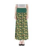 Women's Pizza Slices Printed Elastic Boho Full Length Maxi Skirt (XS-3XL... - $28.99+