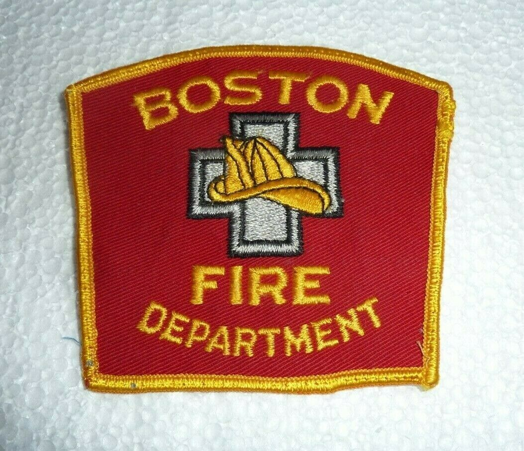 Primary image for Vintage Boston Fire Department Patch   S-23