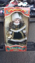 Fine Porcelain Doll By Dollex Holiday Lane 2003 Christmas Limited Editio... - $28.04