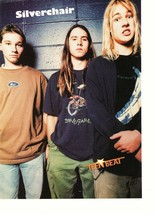 Silverchair teen magazine pinup clipping rockline 90's 16 Tiger Beat Bop - $3.50