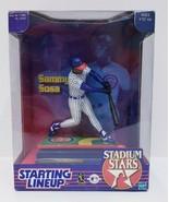 Starting Lineup Sammy Sosa Stadium Stars 1999 Special Edition New In Box - $9.50