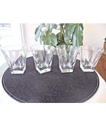 "Set of 4 Whiskey Rocks Glasses 4"" Tall. - $37.61"