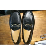 Cole Haan Ascot II Classic black Leather Bit Buckle Loafers CO2498 Mens ... - $49.50